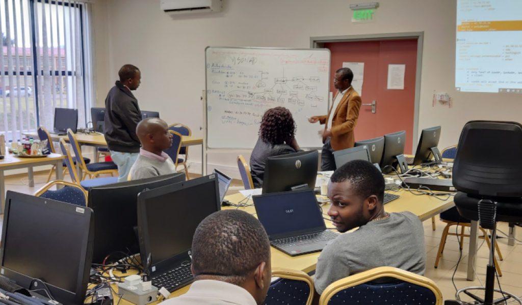 Eduroam Training in session
